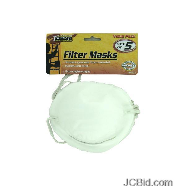 JCBid.com Disposable-Filter-Masks-display-Case-of-72-pieces