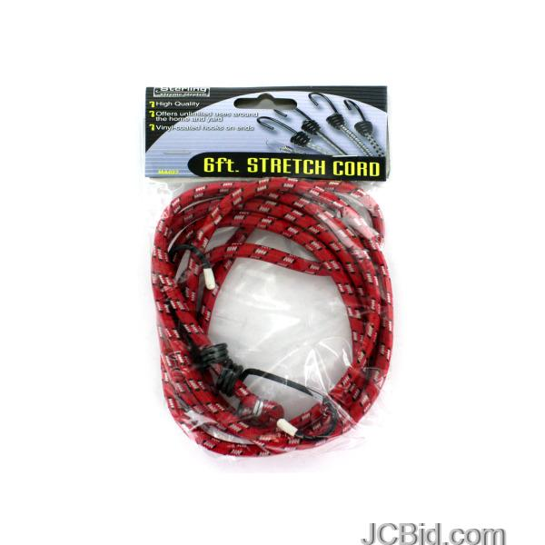 JCBid.com Stretch-Cord-with-Hooks-display-Case-of-108-pieces