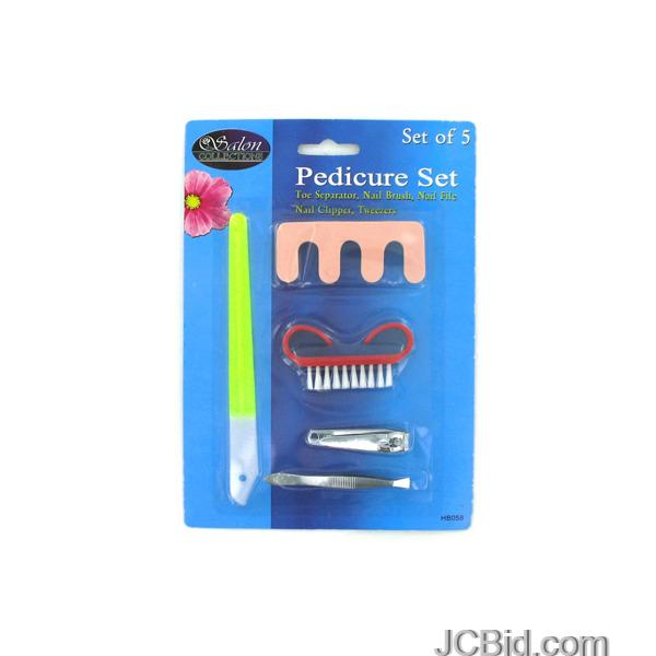 JCBid.com Deluxe-Pedicure-Set-display-Case-of-96-pieces