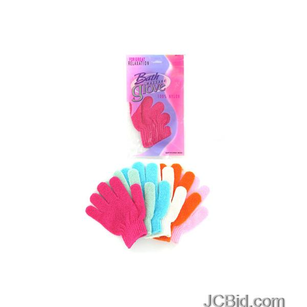 JCBid.com Bath-Massage-Glove-display-Case-of-108-pieces