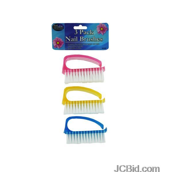 JCBid.com Nail-Brush-Set-Case-of-48-pieces