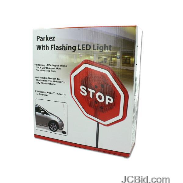 JCBid.com Flashing-LED-Light-Parking-Safety-Sensor-display-Case-of-12-pieces