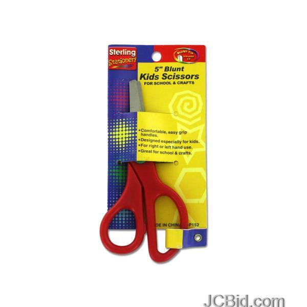 JCBid.com Blunt-Tip-Kids-Scissors-display-Case-of-72-pieces