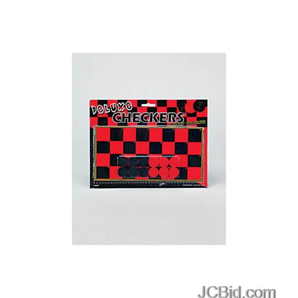JCBid.com Toy-Checkers-Game-Set-display-Case-of-72-pieces