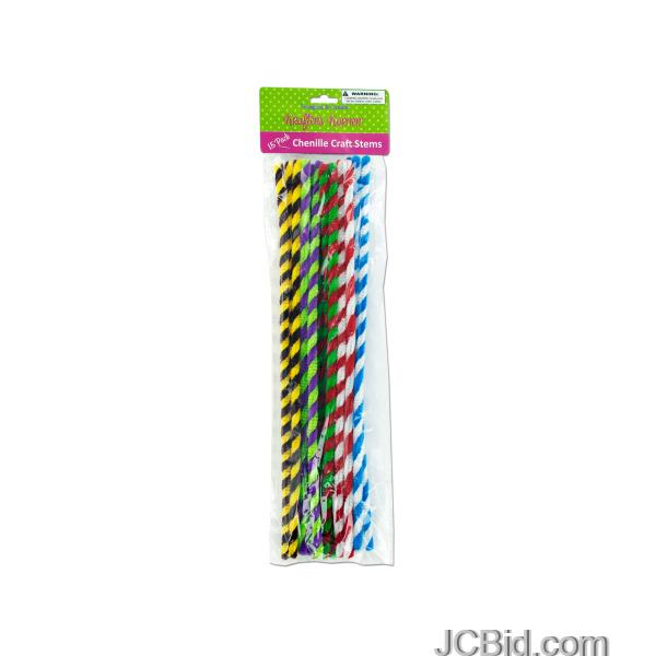 JCBid.com Chenille-Craft-Stems-display-Case-of-120-pieces