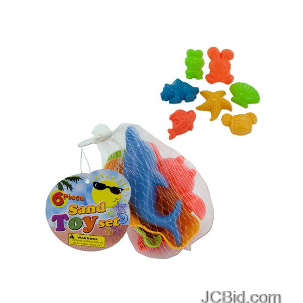 JCBid.com Toy-Sand-Molds-Set-display-Case-of-84-pieces