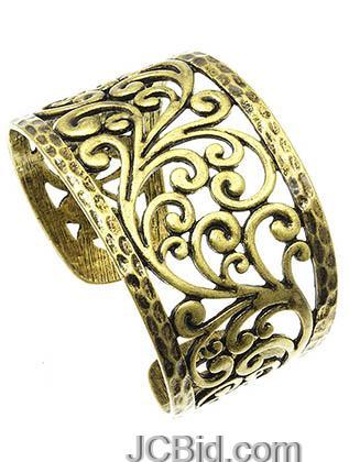 JCBid.com Filigree-Scroll-Design-Bracelet