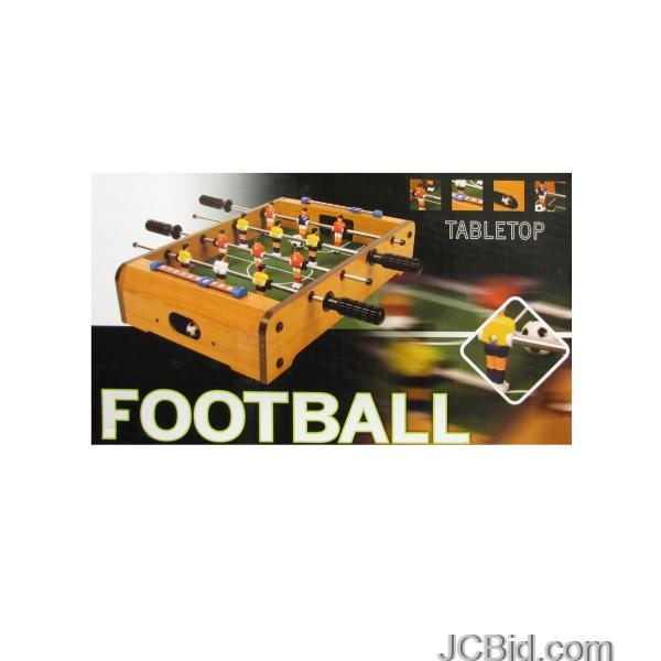 JCBid.com Tabletop-Football-Game-display-Case-of-12-pieces