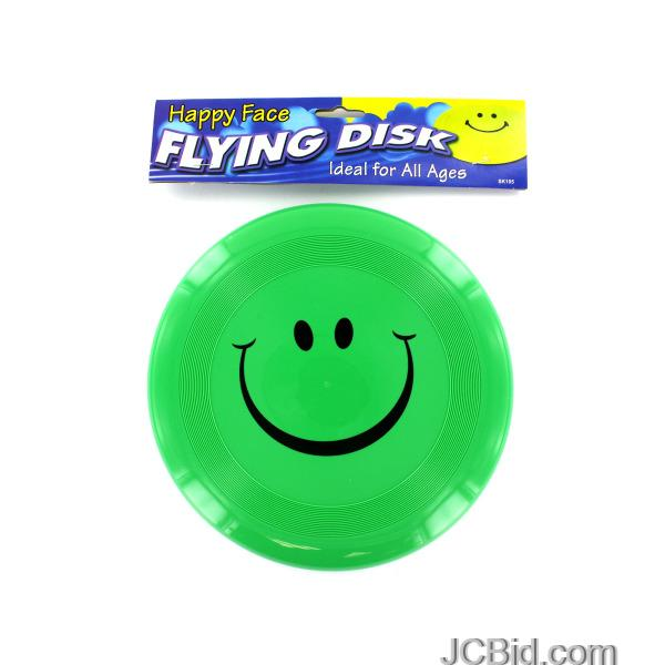 JCBid.com Smiley-Face-Flying-Disk-display-Case-of-72-pieces