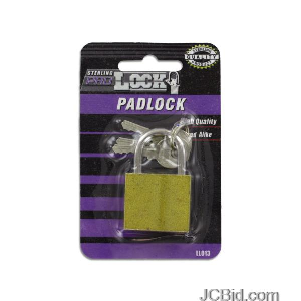 JCBid.com Iron-Padlock-with-Keys-display-Case-of-60-pieces