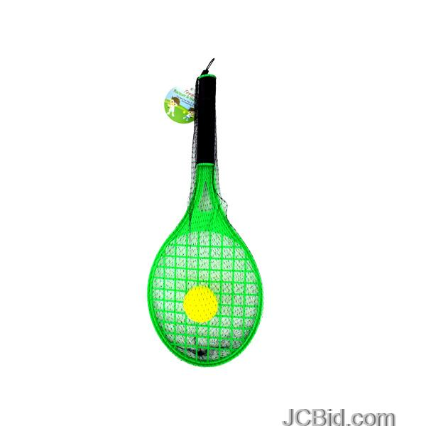 JCBid.com Toy-Tennis-Racquet-with-Foam-Ball-Set-display-Case-of-60-pieces