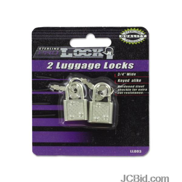 JCBid.com Luggage-Locks-with-Keys-display-Case-of-84-pieces