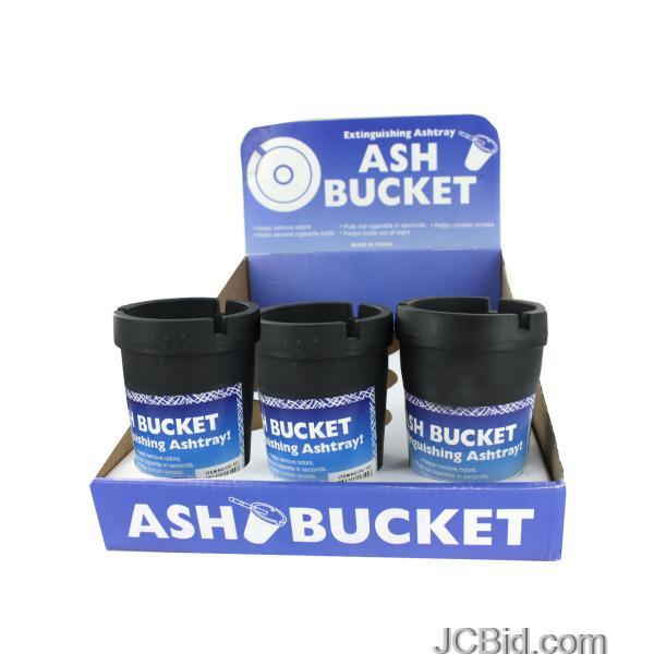 JCBid.com Extinguishing-Ashtray-Ash-Bucket-Counter-Top-Display-display-Case-of-60-pieces