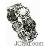 JCBid.com Antique-look-stretch-bracelet