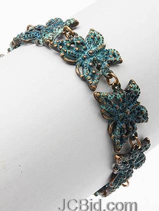 JCBid.com Butterfly-Bracelet-Blue