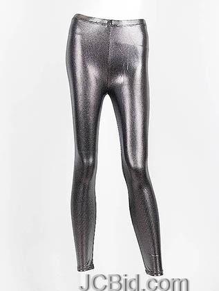 JCBid.com Metallic-Legging-Silver