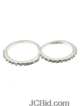 JCBid.com Two-Finger-Infinity-Ring