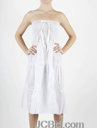 JCBid.com White-Lace-trimmed-Sundress