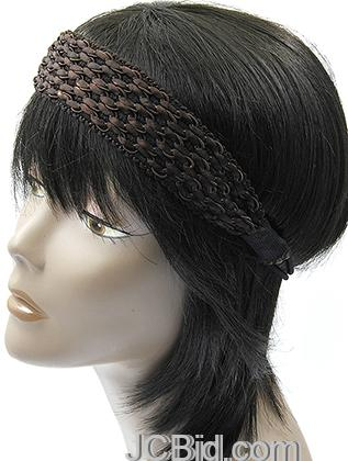 JCBid.com Fancy-head-band-in-brown
