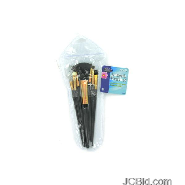 JCBid.com Cosmetic-Brushes-in-Case-display-Case-of-72-pieces