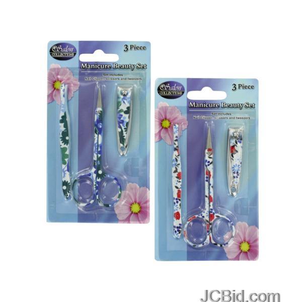JCBid.com Manicure-Beauty-Set-display-Case-of-60-pieces