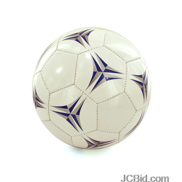 JCBid.com Simulated-Leather-Size-5-Soccer-Ball-display-Case-of-12-pieces