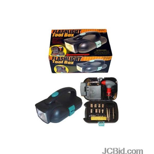 JCBid.com Flashlight-Toolbox-display-Case-of-12-pieces
