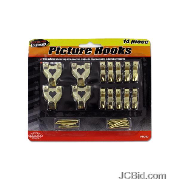 JCBid.com Picture-Hook-Set-display-Case-of-60-pieces
