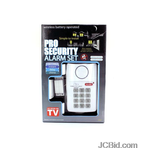 JCBid.com Secure-Pro-Keypad-Alarm-System-display-Case-of-12-pieces