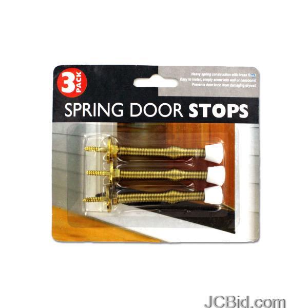 JCBid.com Spring-Door-Stop-Set-display-Case-of-72-pieces