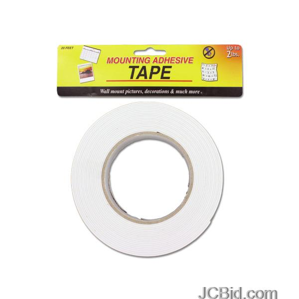 JCBid.com Mounting-Adhesive-Tape-display-Case-of-60-pieces