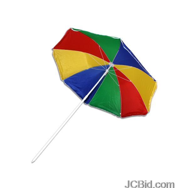 JCBid.com Extra-Large-Beach-Umbrella-Display