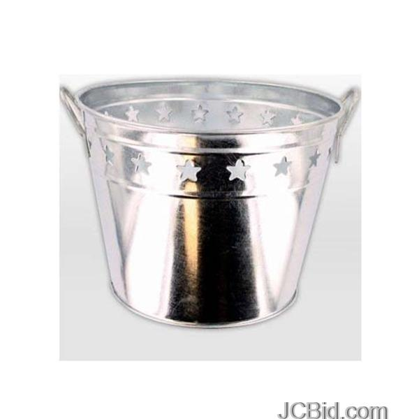 JCBid.com Tin-Bucket-with-Stars-display-Case-of-36-pieces