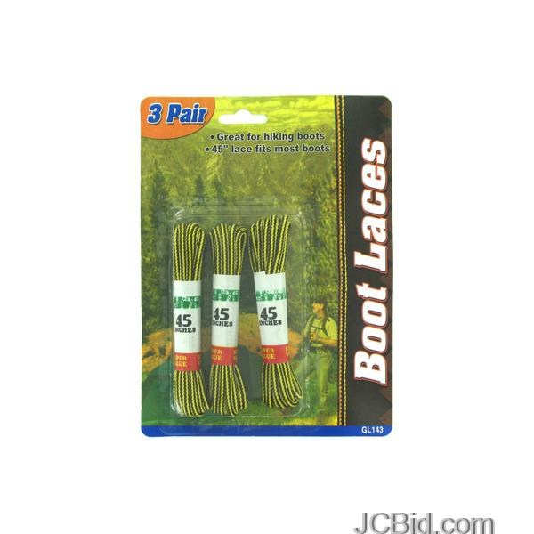 JCBid.com Nylon-Boot-Laces-display-Case-of-84-pieces