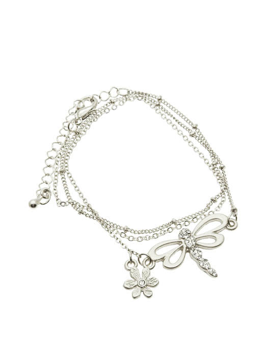 JCBid.com Beautiful-Dragonfly-Bracelet-Golden